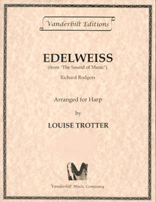Edelweiss from The Sound of Music by Richard Rogers, Arranged for Harp by Louise Trotter