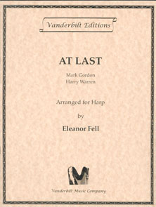 At Last by Mark Gordon and Harry Warren - Arranged for Harp by Eleanor Fell