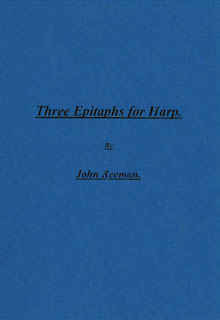 Three Epitaphs for Harp - John Reeman
