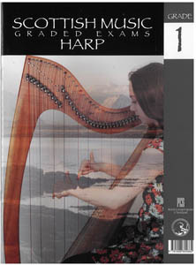 Scottish Music Harp Graded Exams for Harp - Grade 1