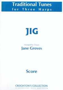 Jig Arranged for Three Harps - Jane Groves