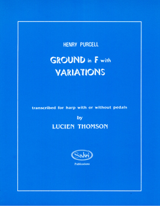 Ground In F With Variations - Henry Purcell - Arranged Thompson