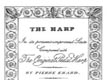 Provenance Certificate for English Erard Harps
