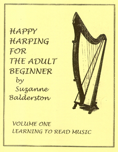 Happy Harping For The Adult Beginner Volume 1 - Suzanne Balderston