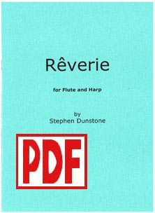 Rêverie For Flute and Harp - Download - Stephen Dunstone