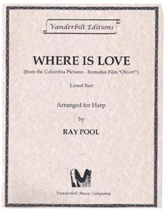 Where Is Love? - Lionel Bart / Arranged for Harp by Ray Pool