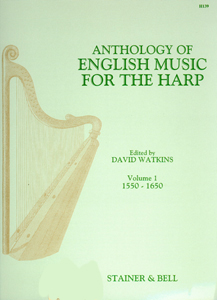Anthology of English Music for the Harp Volume 1 - Edited David Watkins