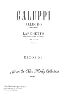 Allegro and Larghetto - Galuppi