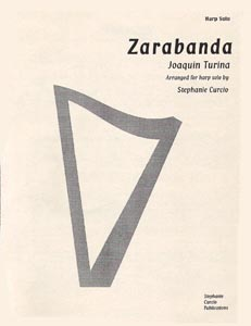 Zarabanda From the Partita in C -  Joaquin Turina / Stephanie Curcio