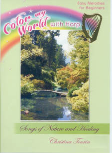 Color My World With Harp: Songs of Nature and Healing DVD - Christina Tourin