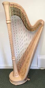 Style 85CG Lyon & Healy Pedal Harp in Natural - LH21615 - In Stock