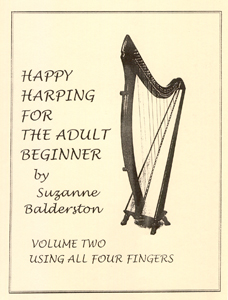 Happy Harping For The Adult Beginner Volume 2 - Suzanne Balderston