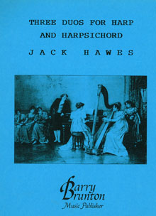 Three Duos for Harp and Harpsichord - Jack Hawes