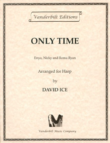 Only Time by Enya, Nicky and Roma Ryan - Arranged for Harp by David Ice