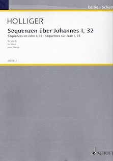Sequences on John I, 32 for Harp - Heinz Holliger