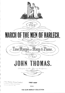 March of the Men of Harlech (Two Harps) - John Thomas