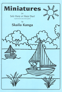 Miniatures for Solo Harp or Harp Duet - Skaila Kanga