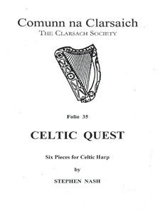 Folio 35 - Celtic Quest: Six Pieces for Celtic Harp by Stephen Nash - Comunn na Clarsaich