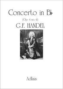 Concerto in Bb (Op. 4 no. 6) by G F Handel 1st Movement - Arranged for Celtic Harp by Ann Griffiths