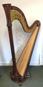 Orpheus 46 Pedal Harp in Walnut - in Stock