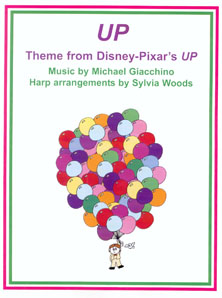 UP: Theme from Disney-Pizar's UP by Michael Giacchino - Arranged for Harp by Sylvia Woods