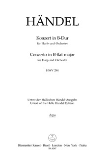 Concerto in Bb Major (Pedal Harp) - G. F. Handel