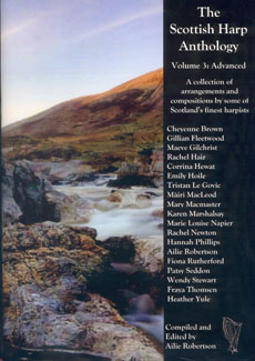 The Scottish Harp Anthology (Advanced) - Compiled and Edited by Ailie Robertson