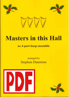 Masters in the Hall - Download - 4 part ensemble - Stephen Dunstone