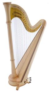 Orpheus 46 Pedal Harp in Maple - in Stock