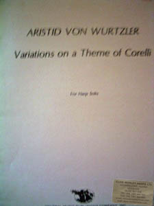 Variations on a Theme of Corelli - Aristid von Wurtzler