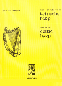 Tutor for the Celtic Harp  Vol 1 - Ank Van Campen