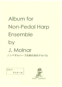 Album for Non-Pedal Harp Ensemble - J Molnar