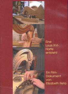 Building a Louis XVI Harp DVD