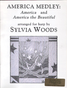 America Medley - Arranged for the Harp by Sylvia Woods