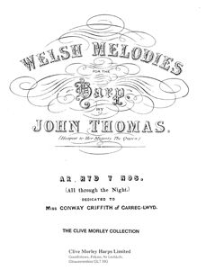 All Through the Night (Welsh Melodies for the Harp) - John Thomas