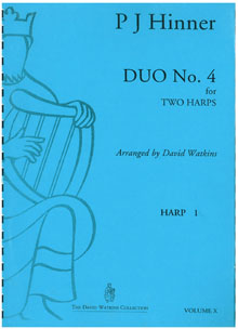 Duo No. 4 for Two Harps - P J Hinner Arranged by David Watkins