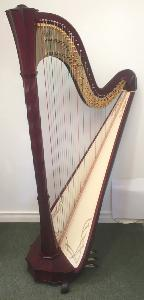 Apollo 47 Pedal Harp in Mahogany finish - P21100 - In Stock