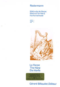 Method For The Harp Vol 1- F. J.Nadermann