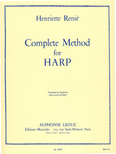 Complete Method For Harp - Henriette Renié