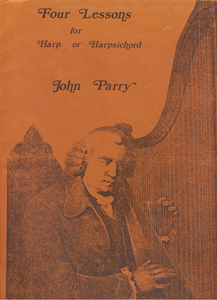 Four Lessons For Harp or Harpsichord -  John Parry