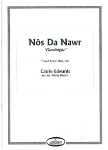 Nos Da Nawr (Good Night) Harp Trio - Catrin Edwards