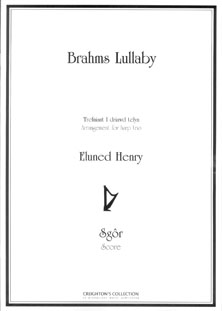 Brahms Lullaby Arranged for Three Harps - Eluned Henry