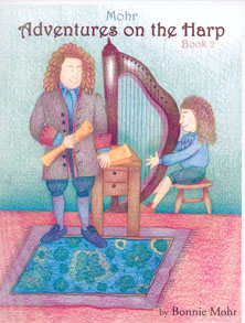 Adventures on the Harp Book 2 - Bonnie Mohr