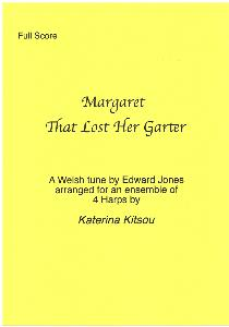 Margaret That Lost Her Garter Arranged for Four Harps by Katerina Kitsou