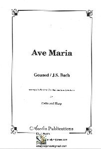 Ave Maria Gounod/J.S.Bach Arranged for Cello and Harp by Eira Lynn Jones
