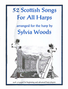 52 Scottish Songs For All Harps - Download - Sylvia Woods