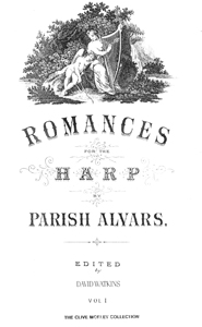 Romances for the Harp Vol 1 - Parish Alvars