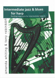 Intermediate Jazz & Blues for Harp Vol 1 - Amanda Whiting & Tony Robinson