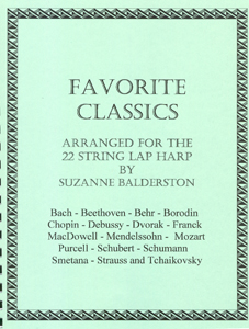 Favourite Classics: Arranged for the 22 String Lap Harp - Suzanne Balderston