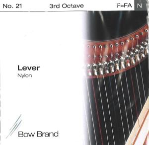 3RD OCTAVE F LEVER NYLON